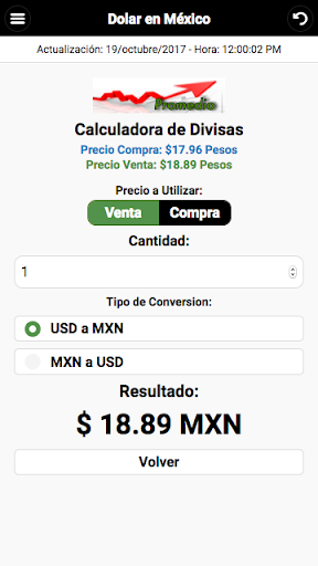 Dollar Price in México screenshot 3