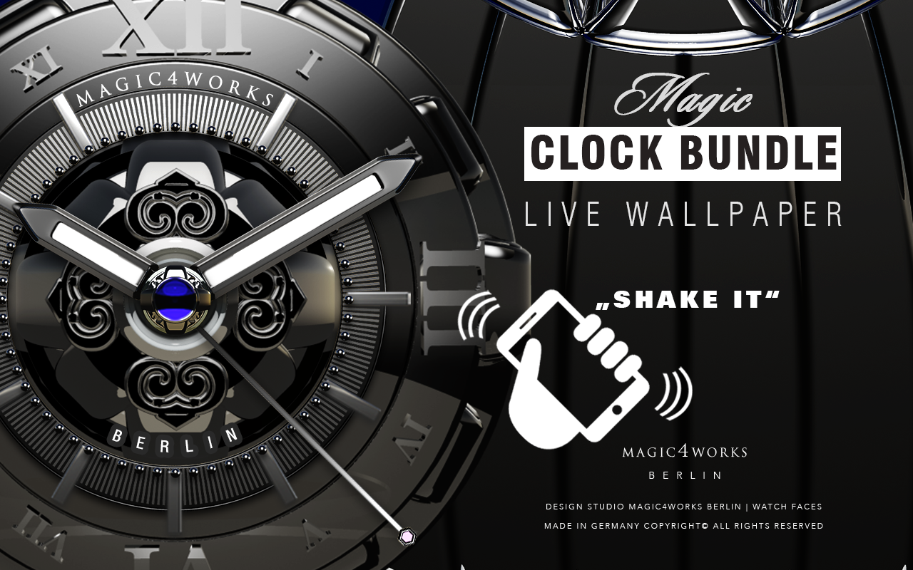 Designer Mega Clock Bundle LWP Screenshot 12