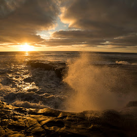 Splish Splash by Deon Hamilton - Landscapes Sunsets & Sunrises