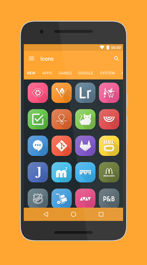 Toca UI - Icon Pack Screenshot 1