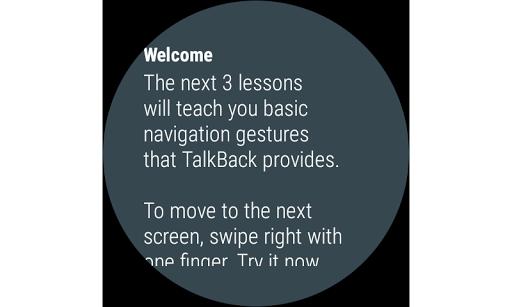 Google TalkBack screenshot 8