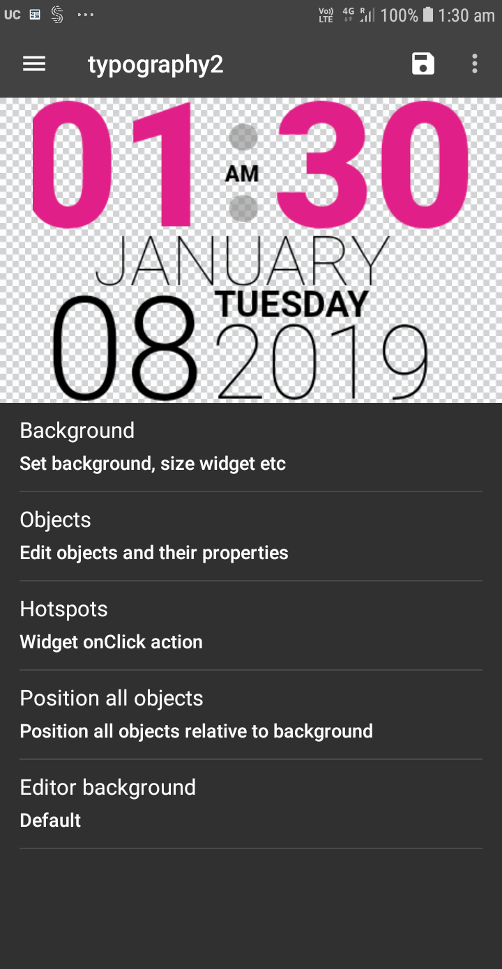 UCCW - Ultimate custom widget Screenshot 2