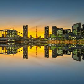 tokyo night view by Nurul Anwar - City,  Street & Park  City Parks