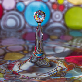 70's flashback by Chuck Mason - Abstract Water Drops & Splashes (  )