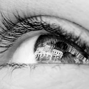 Town beyond the memories by Cretu Stefan Daniel - People Body Parts ( d7000, town.csdany, eyes, eye )