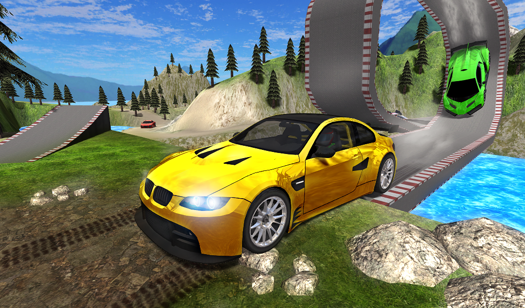 Car Stunts Driver 3D Screenshot 0