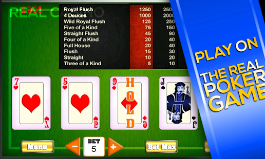 Lucky Poker Challenge - screenshot