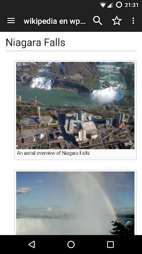 Kiwix, Wikipedia offline screenshot 3