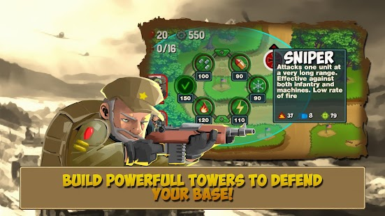 Game Tower Defense: Clash of WW2 APK for Kindle