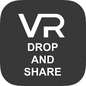 VR Drop and Share for Android