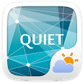 Quiet GO Weather Widget Theme