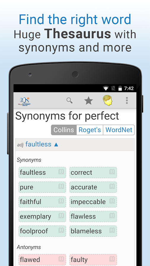 Dictionary Pro Screenshot 2