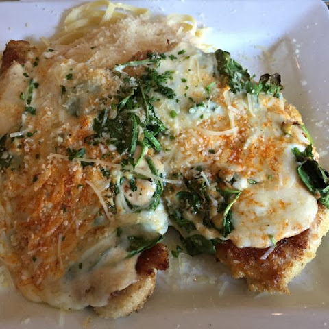 Chicken Florentine with Spinach and Parmesan Cheese