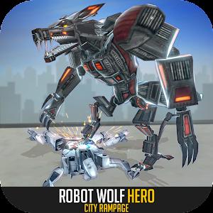 Robot Wolf Hero: City Rampage For PC / Windows 7/8/10 / Mac – Free Download