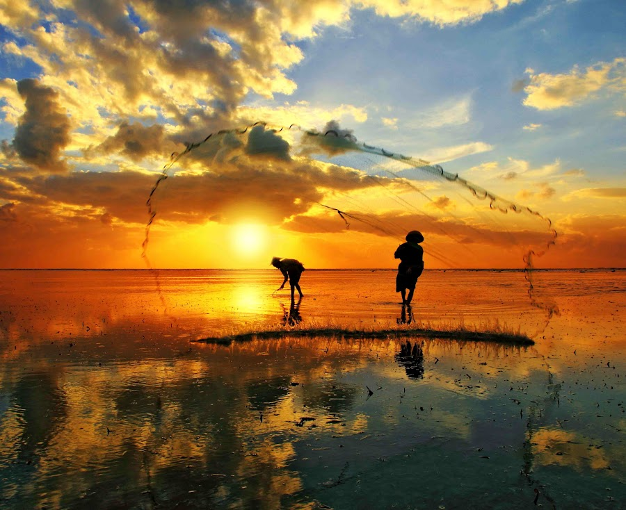 Morning Activity by Alit  Apriyana - Landscapes Sunsets & Sunrises