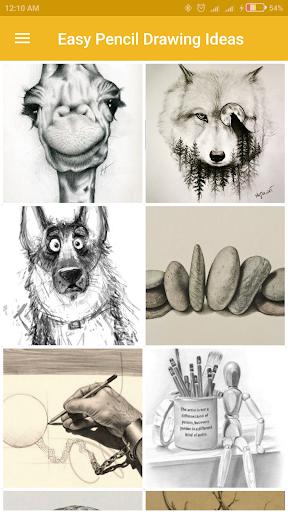 Easy Pencil Drawing Ideas