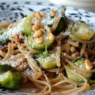 Linguine with Brussels Sprouts and Brown Butter Sage Sauce