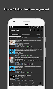 Podcast Republic - Podcasts and Radio Player App Screenshot