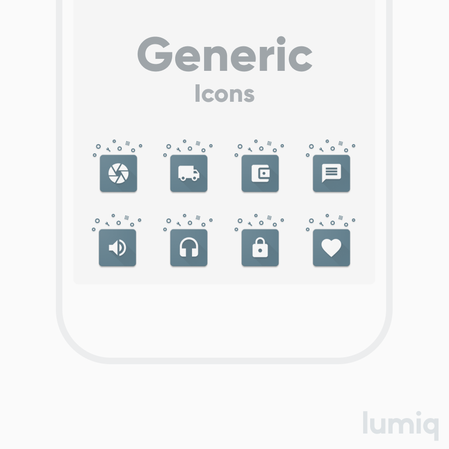 Cosmicons - Icon Pack (Unreleased) Screenshot 4