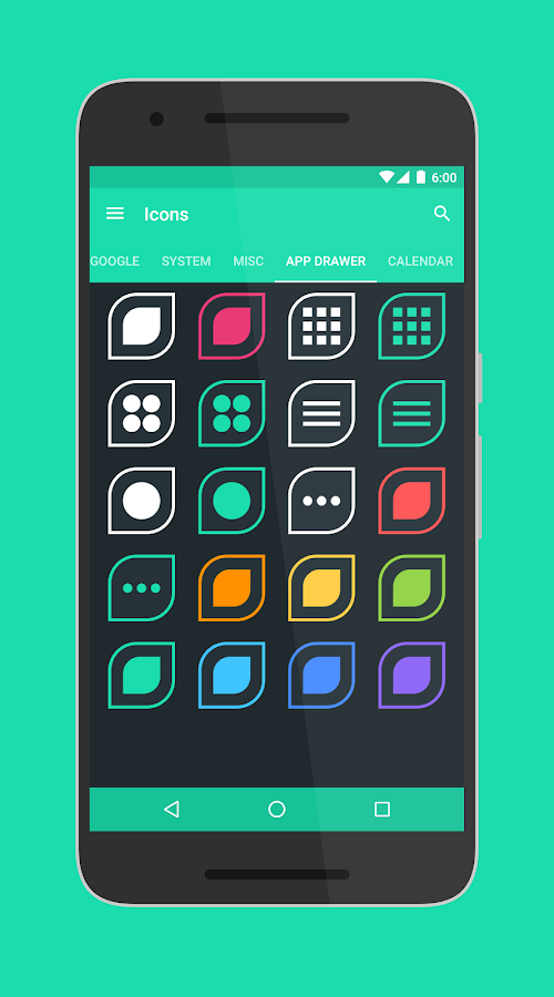 Folium - Icon Pack Screenshot 1