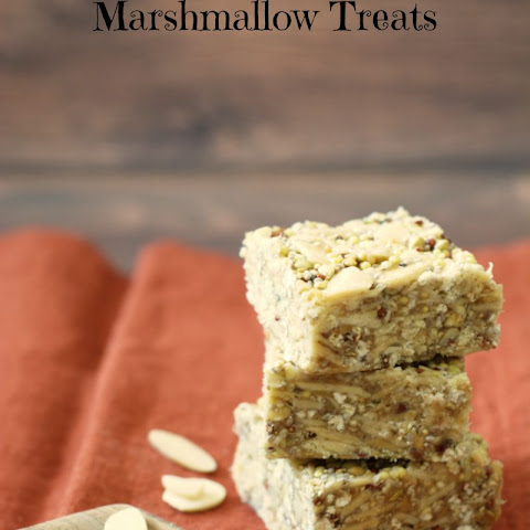 Pumpkin Spice Nutty Seed Marshmallow Treats