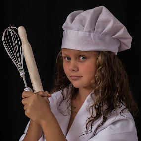 Baking day by Susan Pretorius - Babies & Children Child Portraits