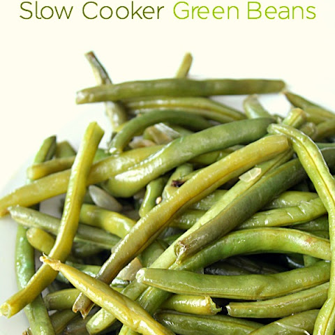 Slow Cooker Green Beans