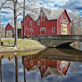 The Red Barn by Lanis Rossi - Buildings & Architecture Public & Historical