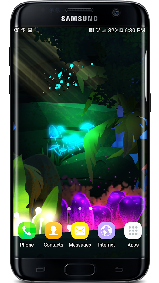 Firefly Jungle Live Wallpaper Screenshot 1
