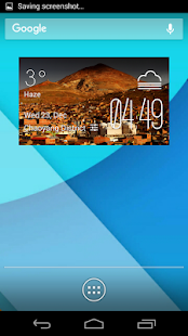 Potosi weather widget - screenshot