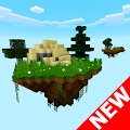 Skyblock island survival MCPE APK for Bluestacks