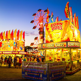 The Midway by Jackie Eatinger - City,  Street & Park  Amusement Parks (  )