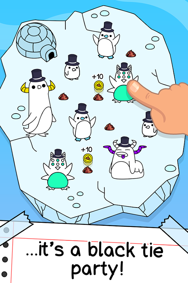 Penguin Evolution -  Screenshot 1