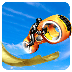 Mega Ramp - Tron Bike Extreme Stunts For PC (Windows & MAC)