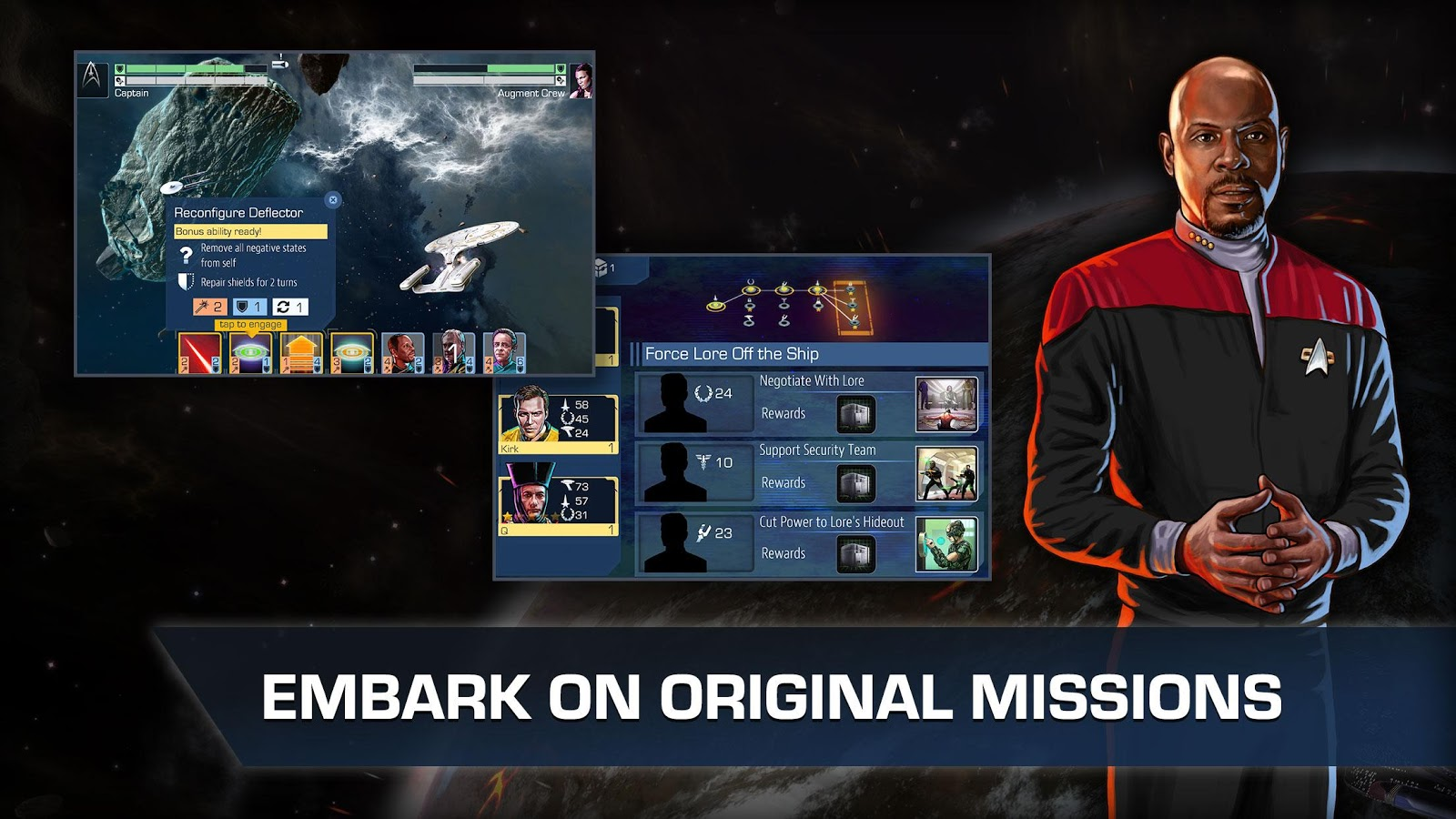 Star Trek Timelines Screenshot 1