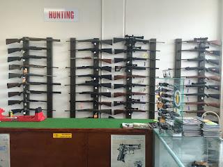hunting rifle south morang