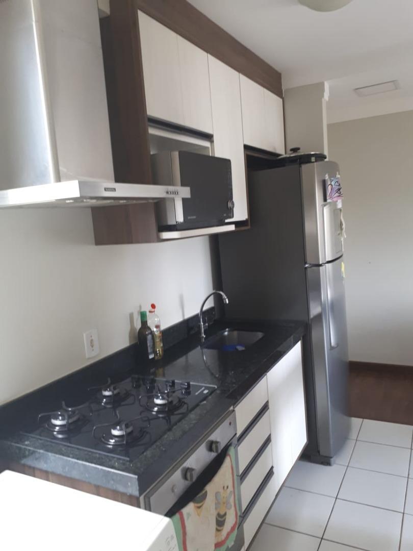 Apartamento com 3 dormitórios, 1 suíte à venda, Villa Flora Hortolândia