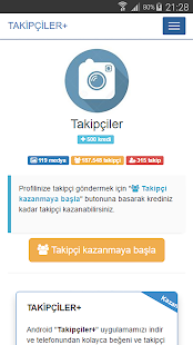 Download Takipçiler+ APK on PC