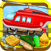 Helicopter Repair Shop APK for Bluestacks