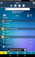 Screenshot of Canberra Airport + Radar CBR