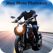 Men Moto Photo Suit : Stylish Bike Photo Editor