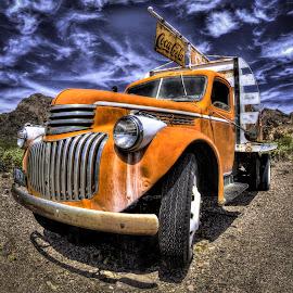 by Dave Zuhr - Transportation Automobiles ( old, desert, truck, d_zuhr, dzuhr, abandoned )