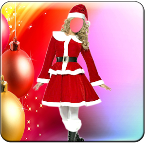 Download free Christmas Girls Photo suit for PC on Windows and Mac