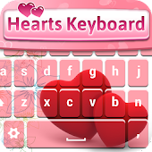 Free Hearts Keyboard Changer APK for Windows 8