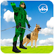 Green Super Arrow Hero Jungle shooting Mission