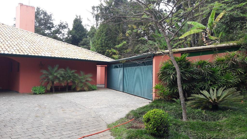 Casa residencial à venda, Parque Silvino Pereira, Granja Via de Terra Granja Viana Imobiliária.'