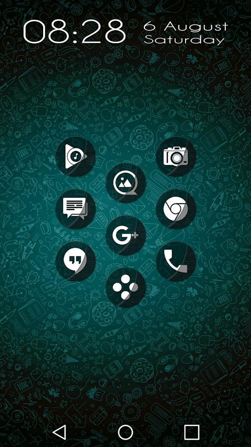 Naz Transparency - Icon Pack Screenshot 2