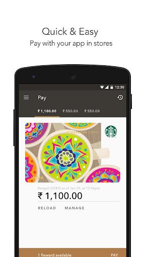 Starbucks India screenshot 2