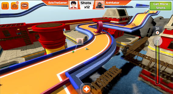 Mini Golf 3D City Stars Arcade - Multiplayer Clash Screenshot