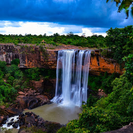 Thamdha gumar waterfall  by Muna Click's - Nature Up Close Water ( nature, waterfall, travel, landscape, photography )